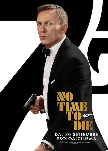 No Time To Die poster ita film