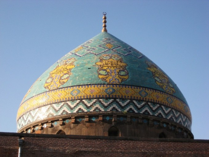 Masjid Biru yang Berada di Yerevan, Armenia