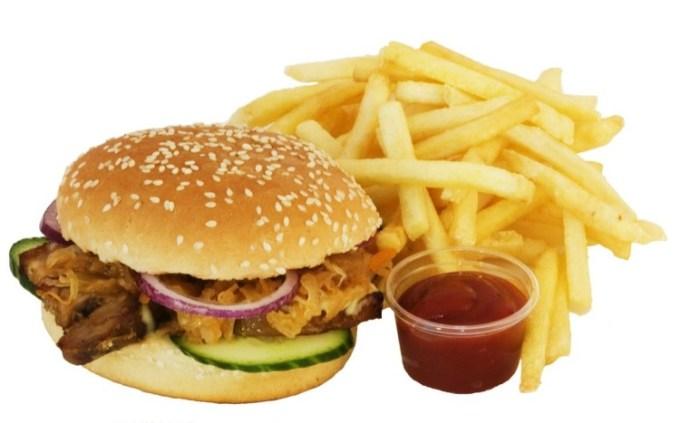 Burger merupakan junkfood