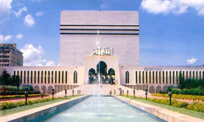 Masjid Baitul Mukharam yang Berada di Bangladesh