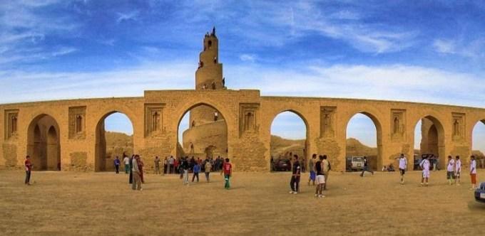 Masjid Raya Samarra yang Berada di Samarra, Iraq