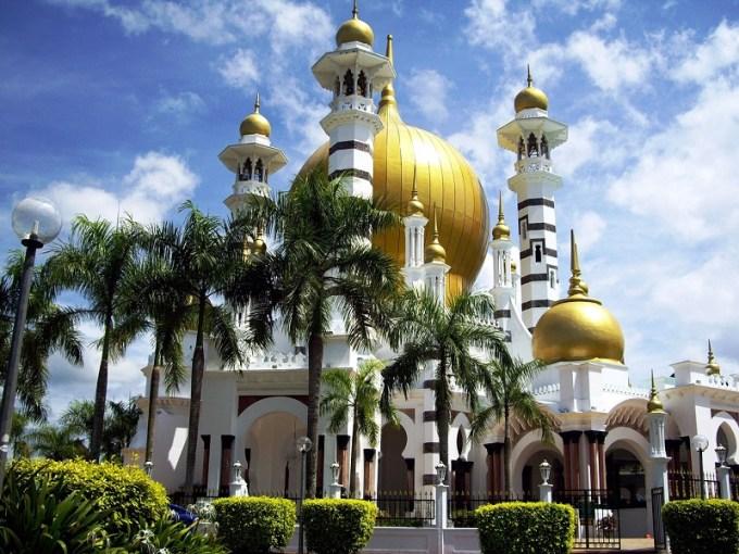 Masjid Ubudiah yang Berada di Kuala Kangsar, Malaysia