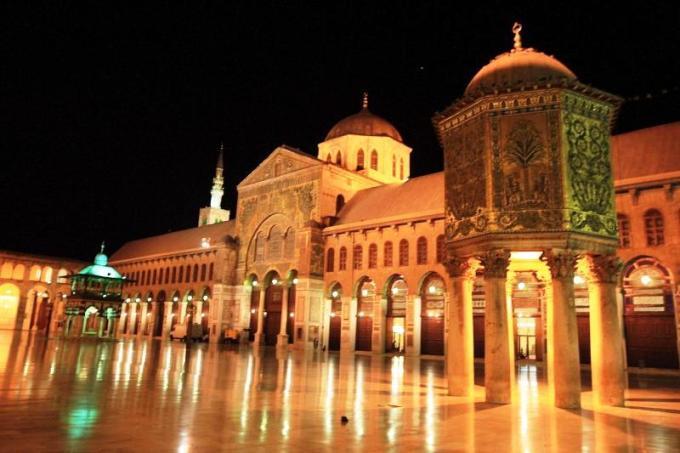 Masjid Umayyad yang Berada di Damascus, Syria