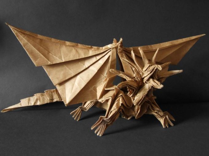 Origami naga dari Anna