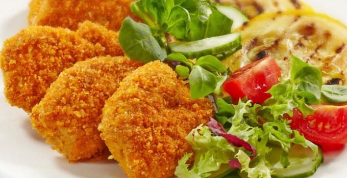 Nugget sayur dan daging