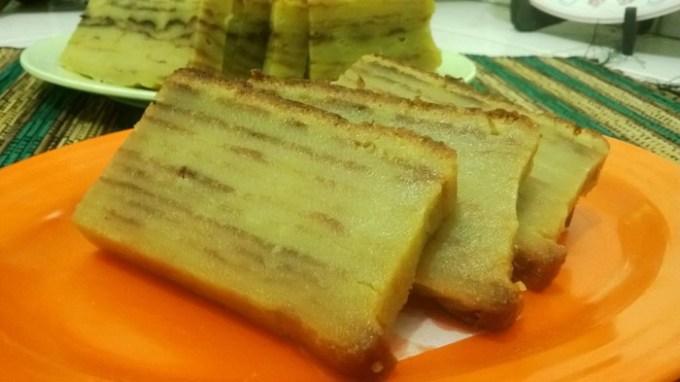 Engkak Ketan ini makanan khas Lampung lho