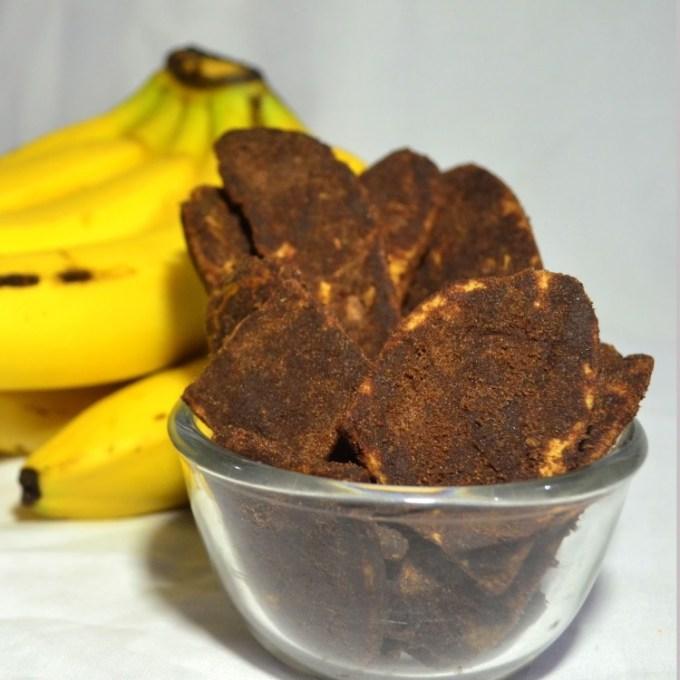 Keripik Pisang Coklat