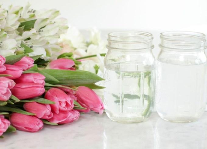 Cara merangkai bunga di dalam vas