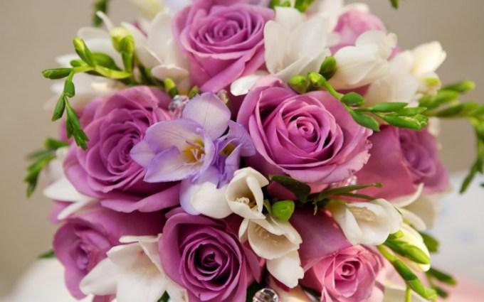Rangkaian Bunga yang indah