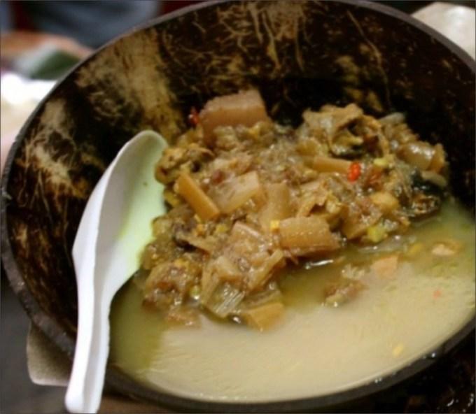Sayur Ares khas Lombok