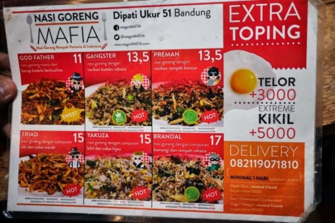 Nasi Goreng Mafia Bandung