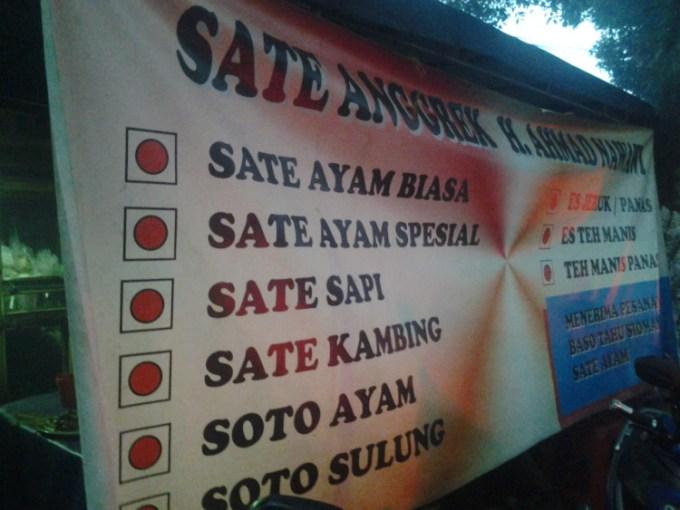 Sate Anggerk Bandung