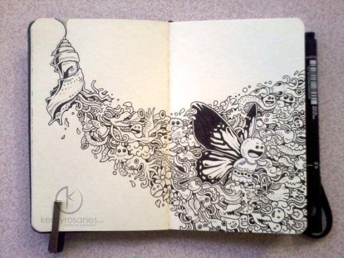 Gambar Doodle Kerby Rosanes