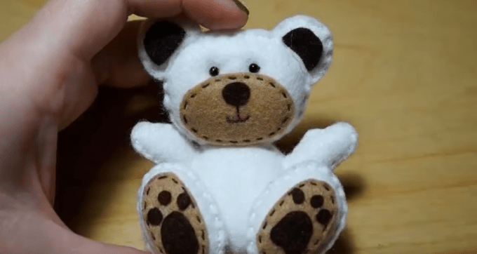 Cara Membuat Boneka Beruang Dari Kain Flanel Yang Mudah Dibuat Mas