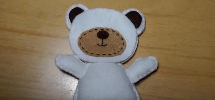Cara Membuat Boneka Beruang Dari Kain Flanel Yang Mudah