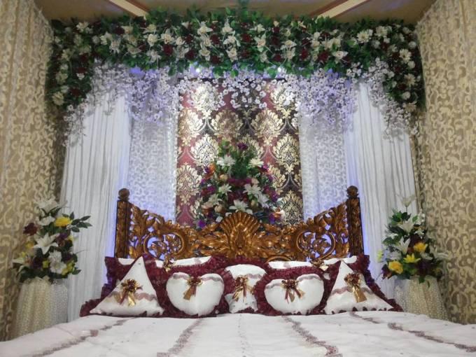 Dekorasi kamar pengantin elegan