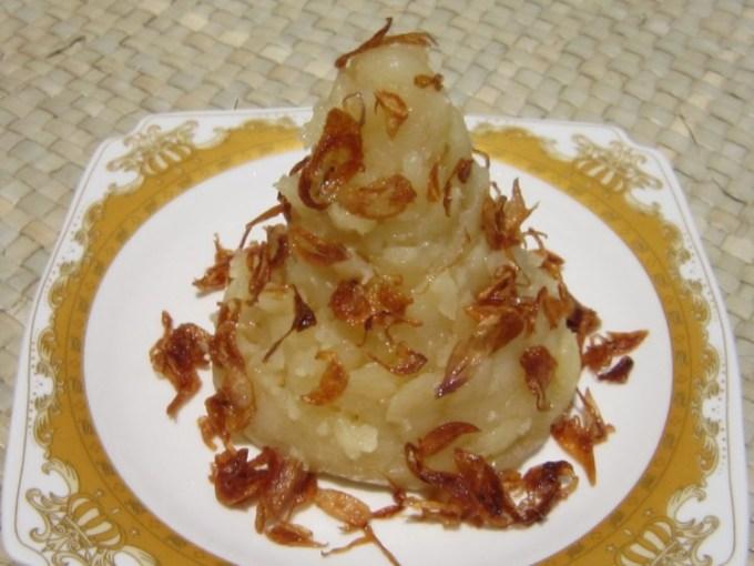 Kue Asidah Makanan Tradisional Melayu