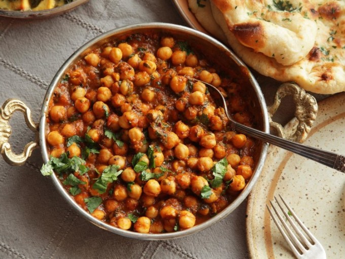 Channa Masala, salah satu makanan khas India