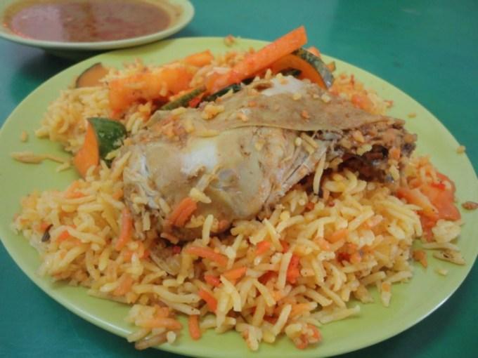 Makanan khas India Nasi Biryani