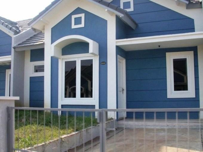 Cat Rumah Warna Biru