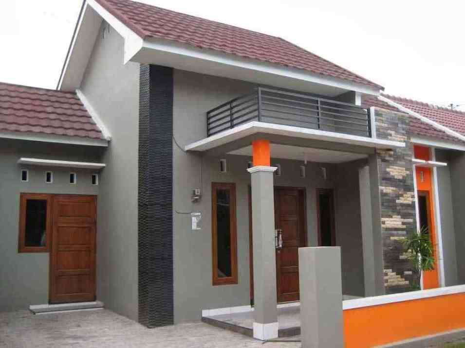 Warna Cat Pagar Tembok Rumah Minimalis Rumah Joglo Limasan Work