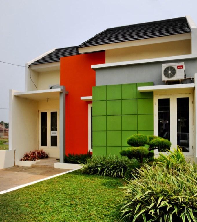 Kombinasi Warna Cat Rumah Hijau Dan Cream  tukang bangun rumah perpaduan warna cat hijau