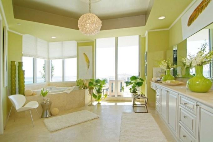 78+ Gambar Rumah Cat Hijau Dan Putih Paling Keren