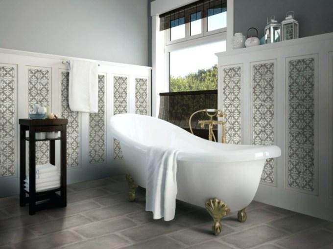 Keramik kamar mandi yang unik