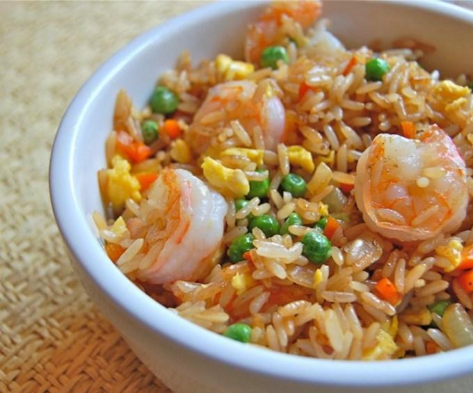 Resep dan cara membuat nasi goreng sea food