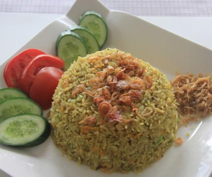 Resep nasi goreng hijau