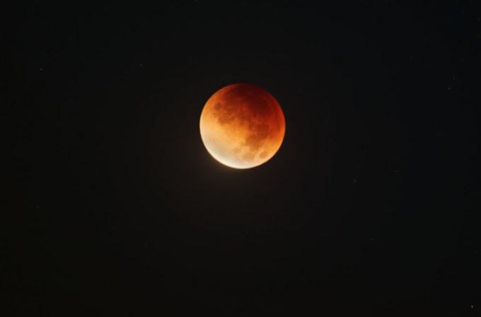 Gerhana Bulan di Kerrville