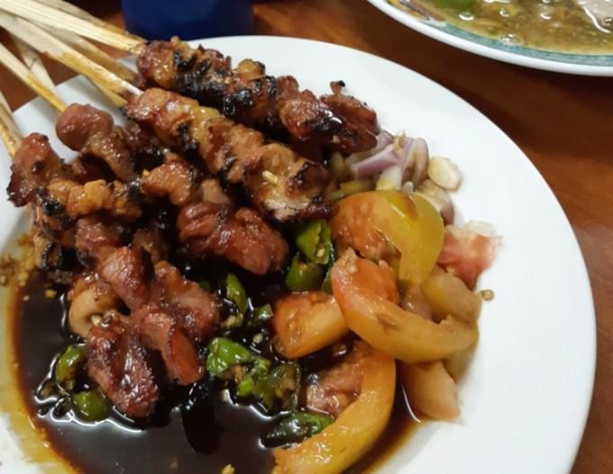 Wisata kuliner di Jakarta Sate & Sop Kambing H. Mansyur
