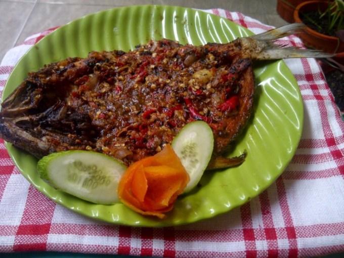 Pecak Bandeng - Makanan Khas Banten