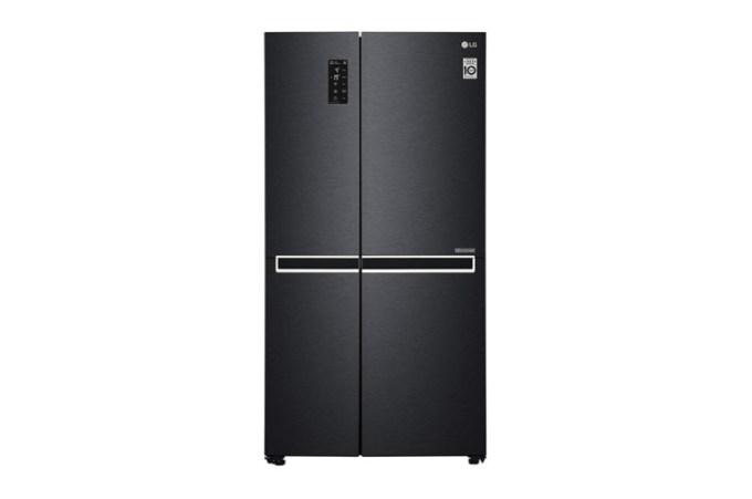 Kulkas LG dua pintu samping
