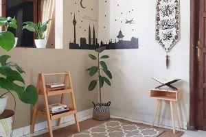Ide desain mushola minimalis di rumah