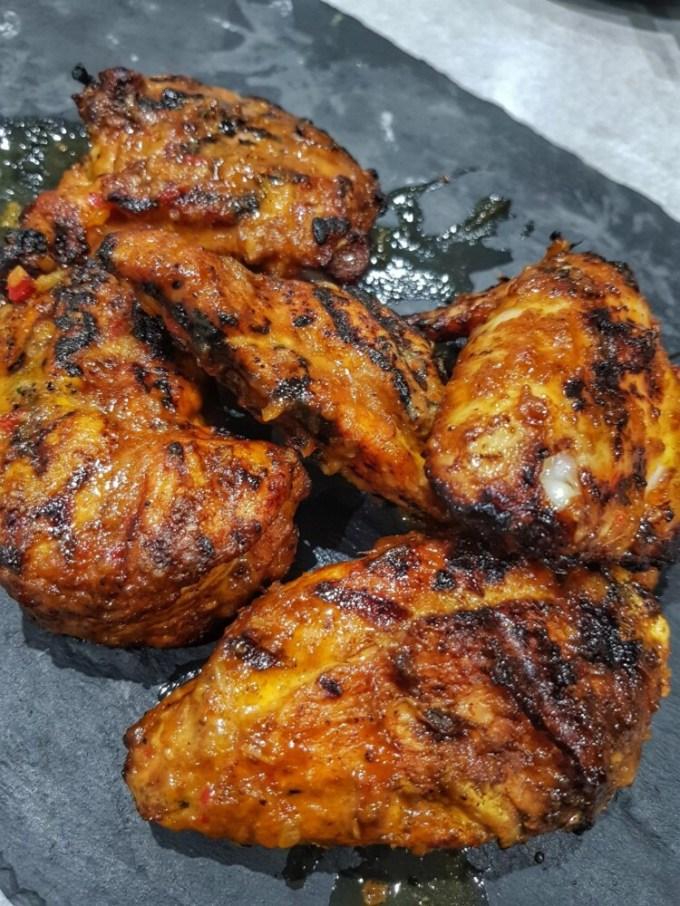 Ayam percik makanan khas Malaysia
