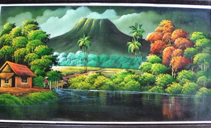 Lukisan pedesaan
