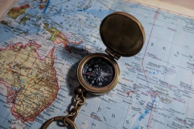 kompas dan peta