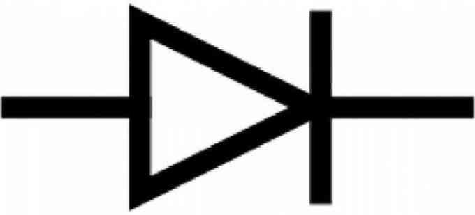 dioda simbol