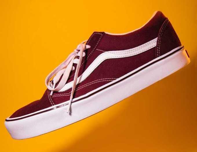 jazz stripe vans shoe