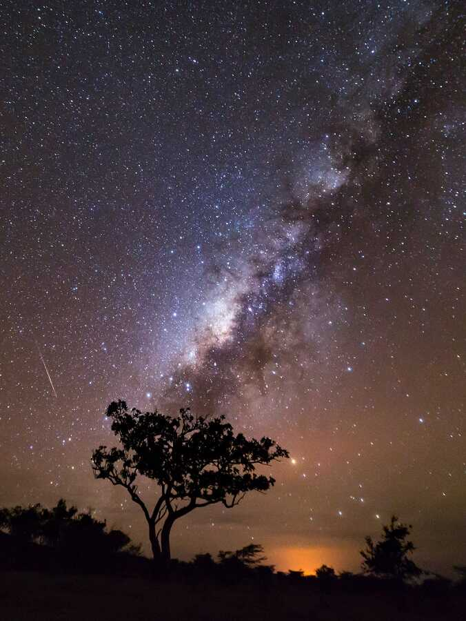 tips dan trik memotret galaksi bima sakti