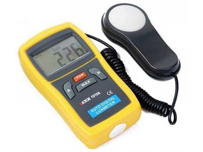lux meter - alat ukur intensitas  cahaya