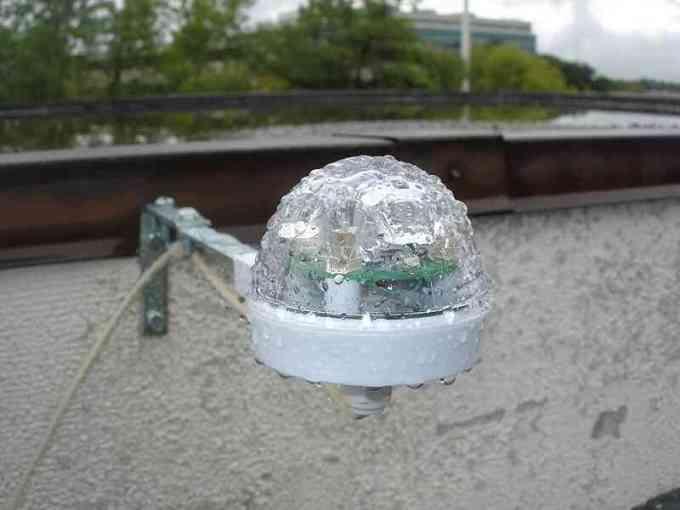 penakar curah hujan tipe optical