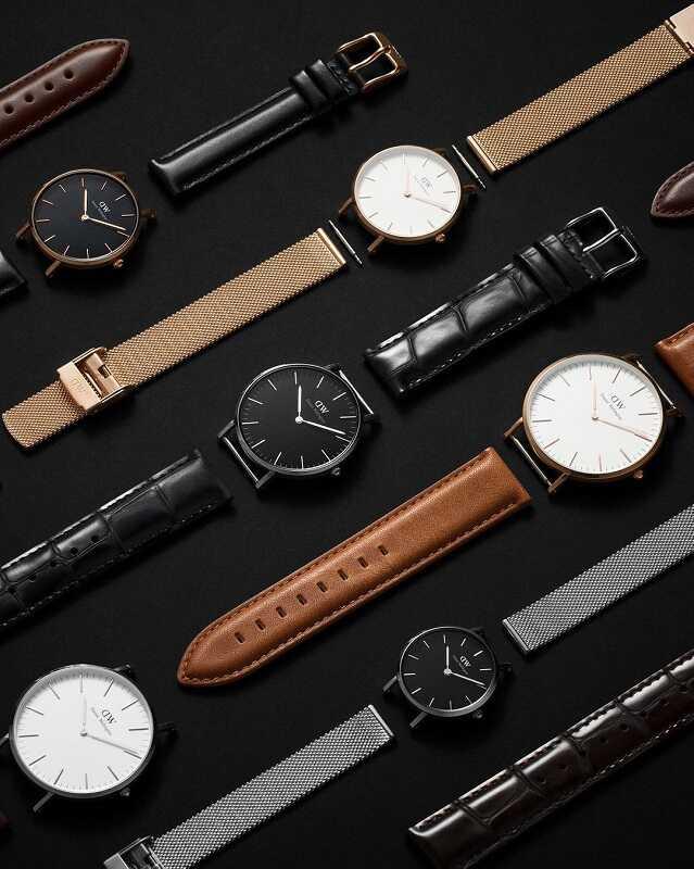 perbedaan jam tangan daniel wellington asli dan kw super