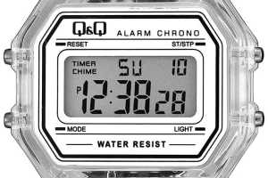 perbedaan jam tangan q&q digital ori dan kw