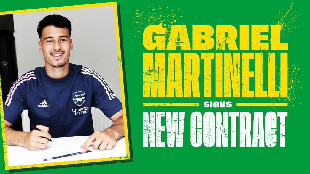 Gabriel Martinelli Asaini mkataba mpya Arsenal