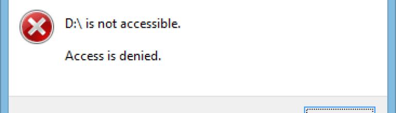 Mengatasi Hard Disk Eksternal Access is Denied