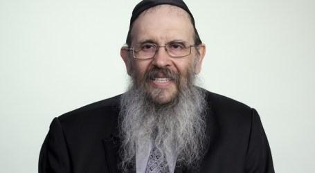 Rab Tzví Grunblatt en la Congregación Sefaradí