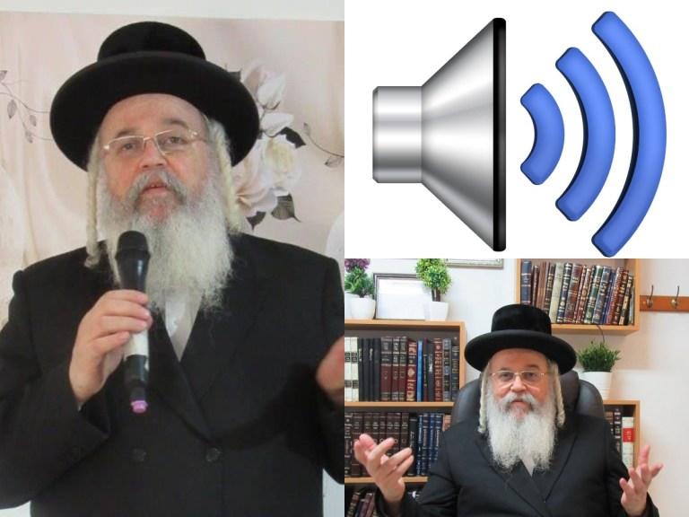 Escuchá los audios del Rab Iztjok Segal . Quizás este sea tu momento para llamarlo