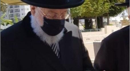 Entre la primera y la segunda vacuna: el rabino Israel Meir Lau contrajo corona